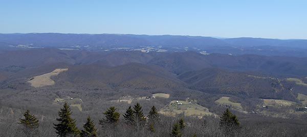 The view from Bald Knob